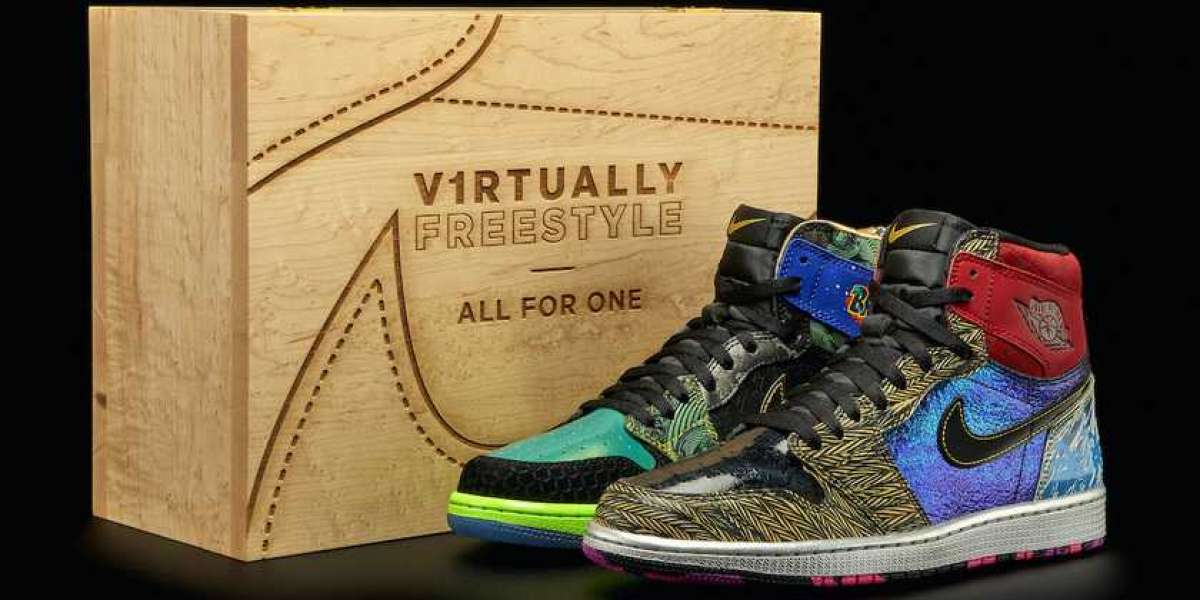 """Overweight Charity Theme Doernbecher x Air Jordan 1 """"What The"""" Revealed!"""