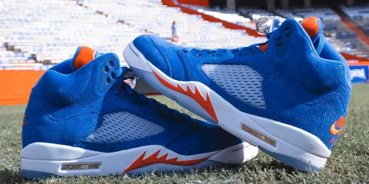 "2021 Air Jordan 5 ""Florida Gators"" PE will be available in limited quantities !"