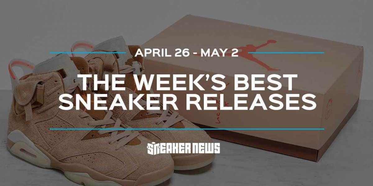 "Travis Scott x Air Jordan 6 ""British Khaki"" leads the best release of the week"