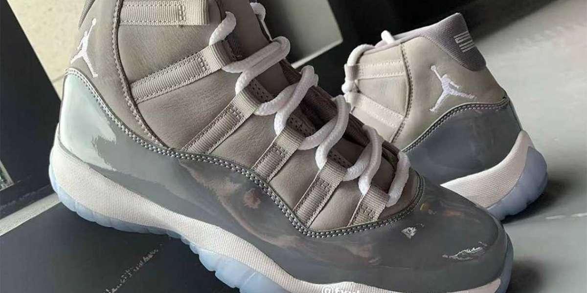 "CT8012-005 Air Jordan 11 ""Cool Grey"" will be released on December 11"